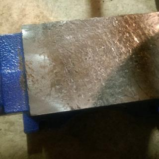 55 Lb  Rugged Cast Iron Anvil