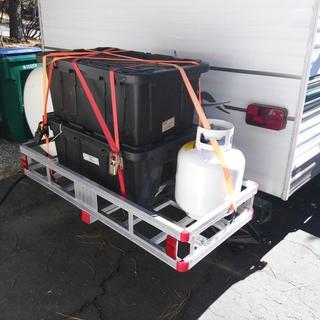 500 Lbs  Capacity Aluminum Cargo Carrier