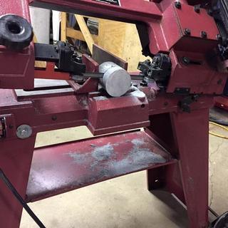 1 HP 4 in  x 6 in  Horizontal/Vertical Metal Cutting Band Saw