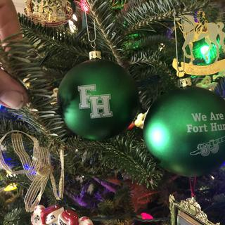 Fort Hunt High School 2017 Christmas Globe 156 Soldout in 2.5 Days  Will contact for 2018 Design