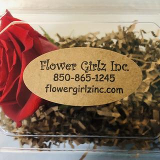 Perfect Label for Corsage & Boutonniere Boxes