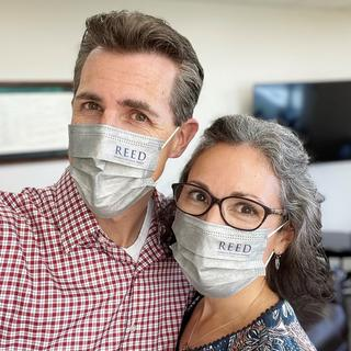 We love our new disposable masks with our company logo! The masks are comfortable and look great!
