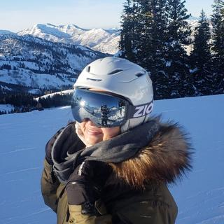 I love this jacket!! My girl gets compliment on the slopes all the time!