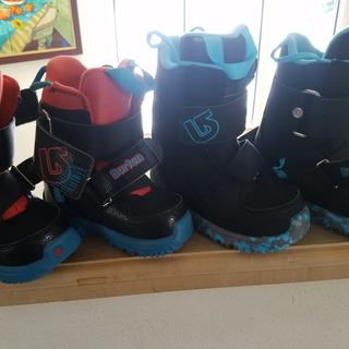 Last years boots size 8C for 2 yrs old, 10C for 3 yrs old