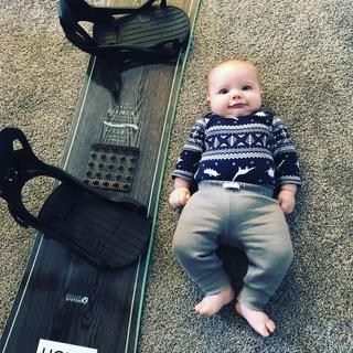 Baby not included