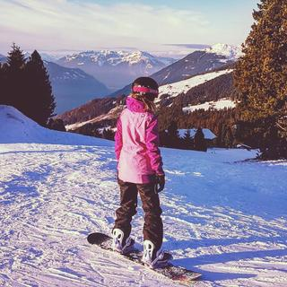 I really enjoy conquering mountains with my new board )