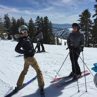 Squaw Valley, CA  Showing off my DC's