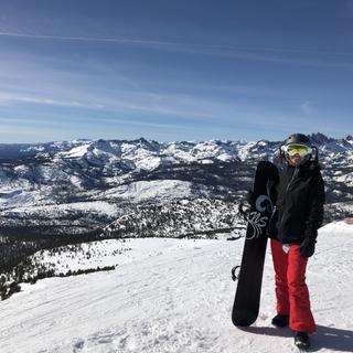 Top of Mammoth Mountain