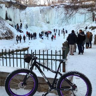 Ride to Minnehaha Falls, Minneapolis, MN