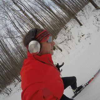 Trail run.