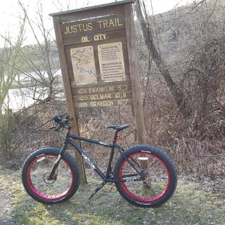 Hitting the trails
