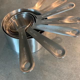 d7ef16fa2e2d1 Sur La Table Stainless Steel Measuring Cups, Set of 8 | Sur La Table