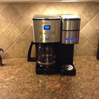 Cuisinart Coffee Center 12 Cup Coffee Maker And Single Serve Brewer