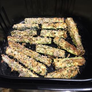 Zucchini fries are a favorite!