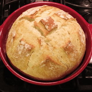 This is my third loaf in this bread pot -- they just keep getting better and better!