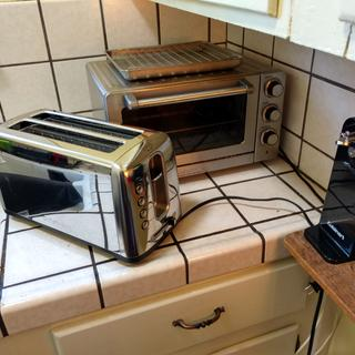 New Toaster up front