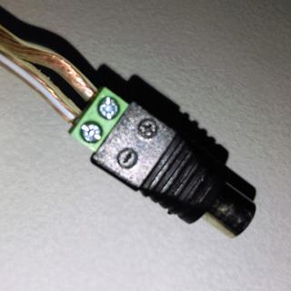 Parts Express RCA Female to Screw Terminal Connector