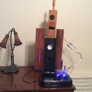 Dayton Audio HTA20BT Hybrid Stereo Tube Amplifier with Bluetooth 4.2 USB Aux Inp