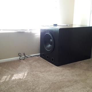 Home Theater Subwoofer >> Dayton Audio Dcs450 4 18 Classic Subwoofer 4 Ohm