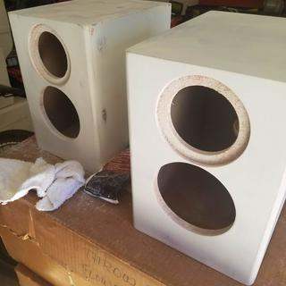 C Note Mt Bookshelf Speaker Kit Pair With Knock Down Cabinets