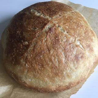 No knead Dutch Oven loaf