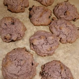 Chai oatmeal current cookies