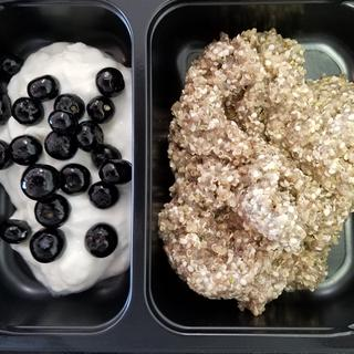 chia pudding with the hemp hearts on fuelmeals