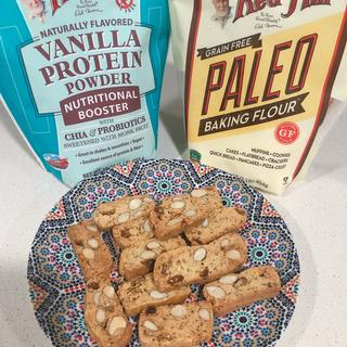Protein moroccan cookies, gluten free and sugar free