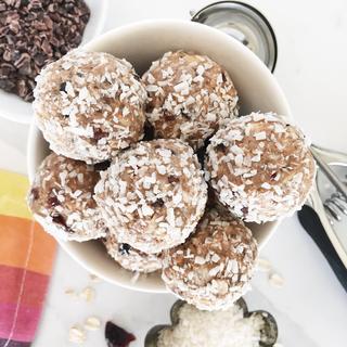 Chai Spiced Energy Balls