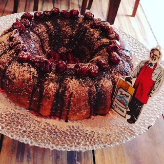 Vegan Chocolate Cherry Cake