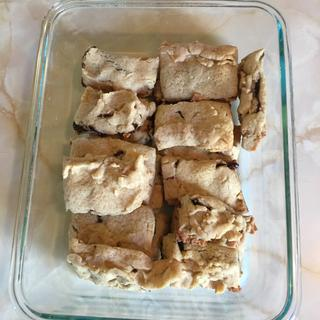 Homemade Fig Newtons using half Spelt and have organic white flour.