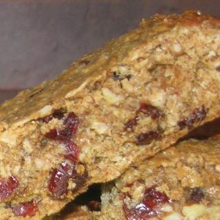 Granola Bars with flaxseed, GF oats & GF oat bran