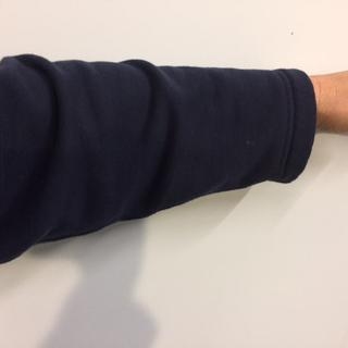 baggy arm without cuff