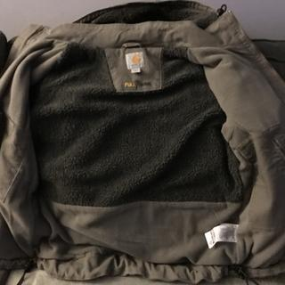Inside of jacket.