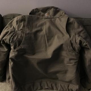 Back of the jacket.