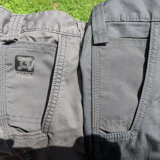 One the noticeable changes is the removal of the force extreme logo on the right side pocket.
