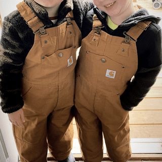 Happy boys in their Carhartt's!