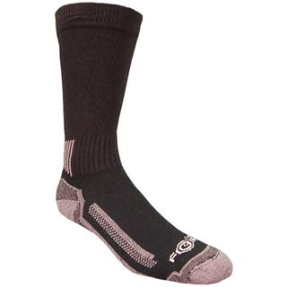 Old version, complete ankle brace with short stripes at back which get longer moving to sides.