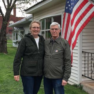 Enjoying Memorial Day weekend with my husband! Both the ElPaso & Briscoe jackets are great. ??