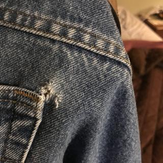 Back pocket tears