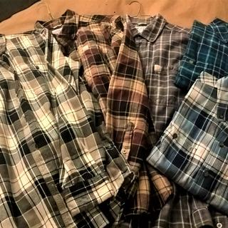 My Carhartt flannel shirt collection