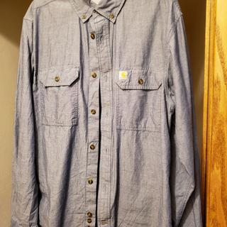 10208fa2 Men's Fort Long Sleeve Chambray Shirt S202 | Carhartt