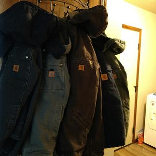 "When it's cold, the quedtion is not, ""Will I wear a Carhartt jacket, but rather, ""Which to wear?"""