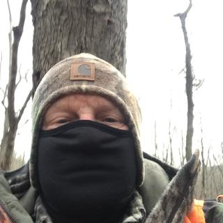 Great hat and face mask.  I have two.  Warmth for head and face plus great face concealment.