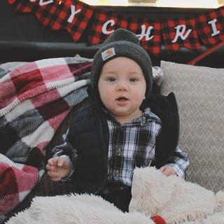we love our hats we ordered! Fits his little head so well!
