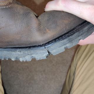 Split sole