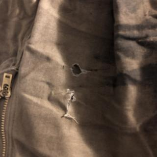 Extremely weak fabric near the zipper. Rips easier than paper.