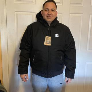 Nice fit , super comfortable Size : regular L   I'm 5'7 , 195lbs  Can't wait to use