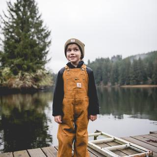Liam, Age 5, The cutest little Carhartt man. <3
