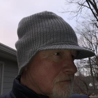 Great hat very warm and comfortable.  Highly recommended.
